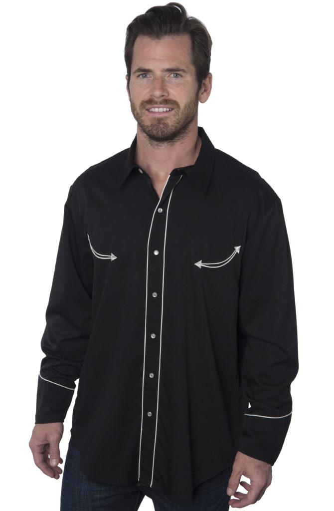 Bennys Black Dress Shirt