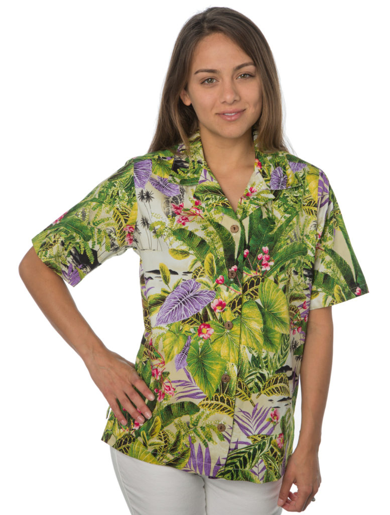 Caladium Sand Hawaiian Shirt
