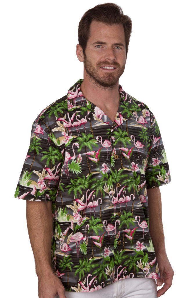Flamingos Black Mens