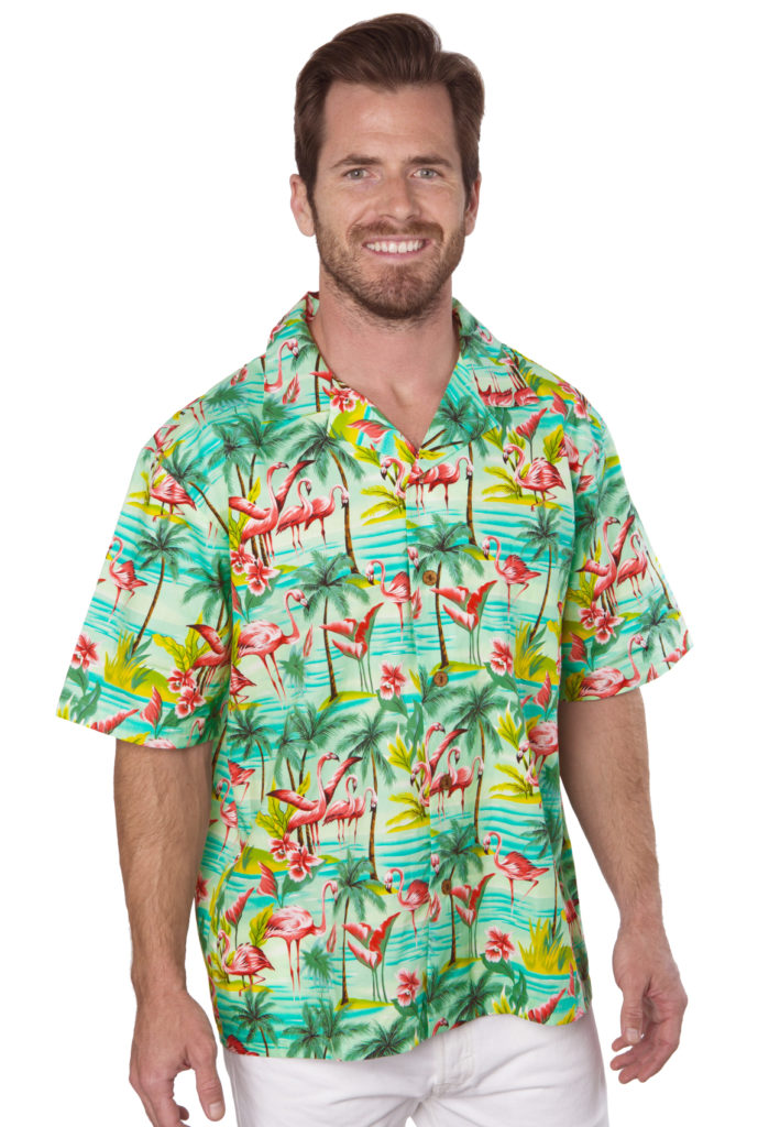 Flamingos Sage Mens