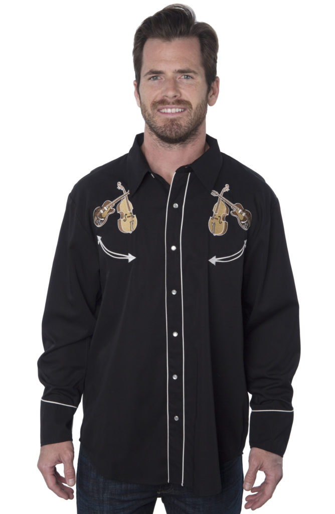 Bennys Guitars Western Shirt