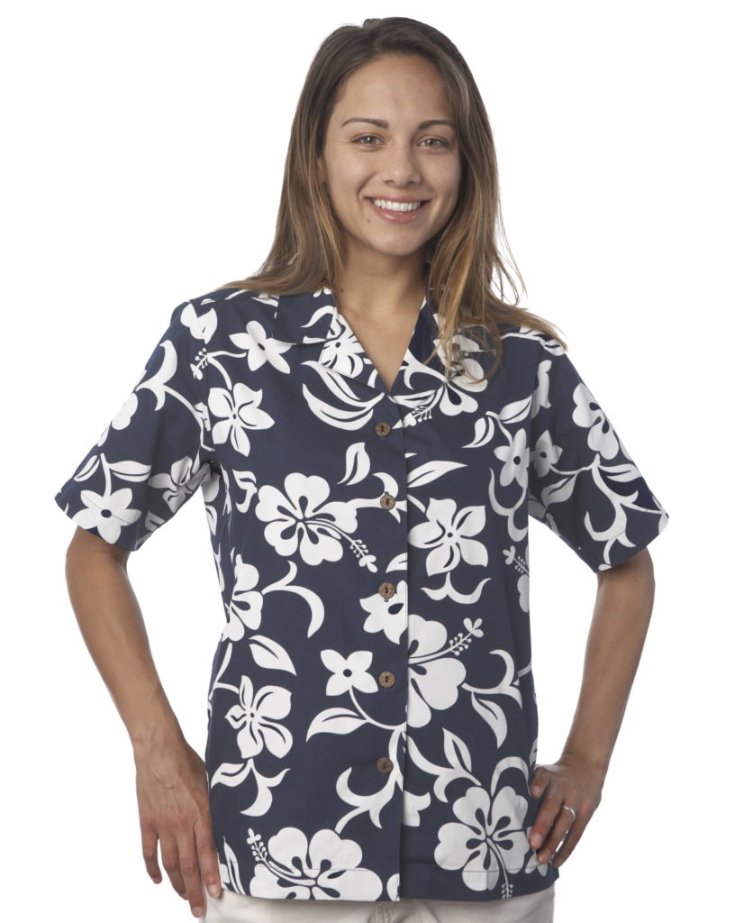 Hibiscus Navy Womens resized