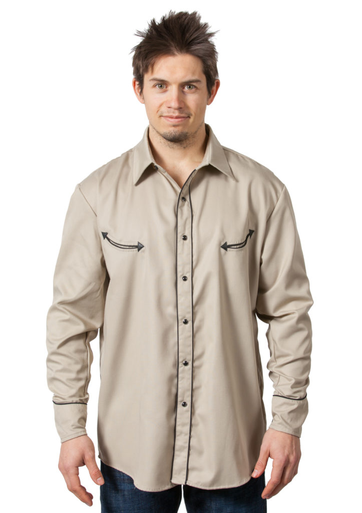 Bennys Khaki Dress Shirt