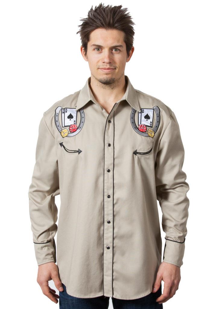 Bennys Khaki Vegas Shirt